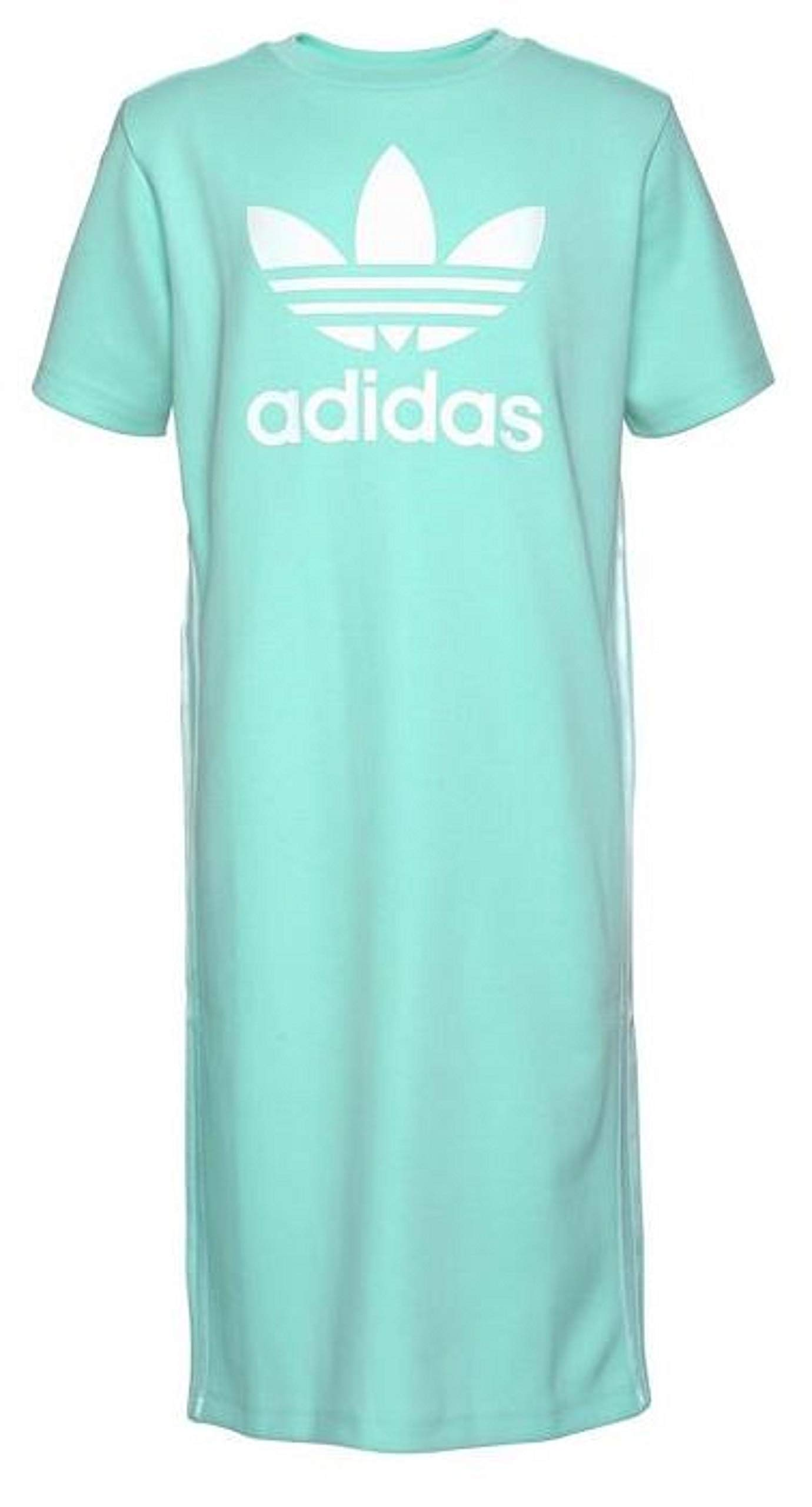 adidas Originals Girls Tank Sleeveless Zoo Dress (Medium, Clear Mint/White) by adidas Originals