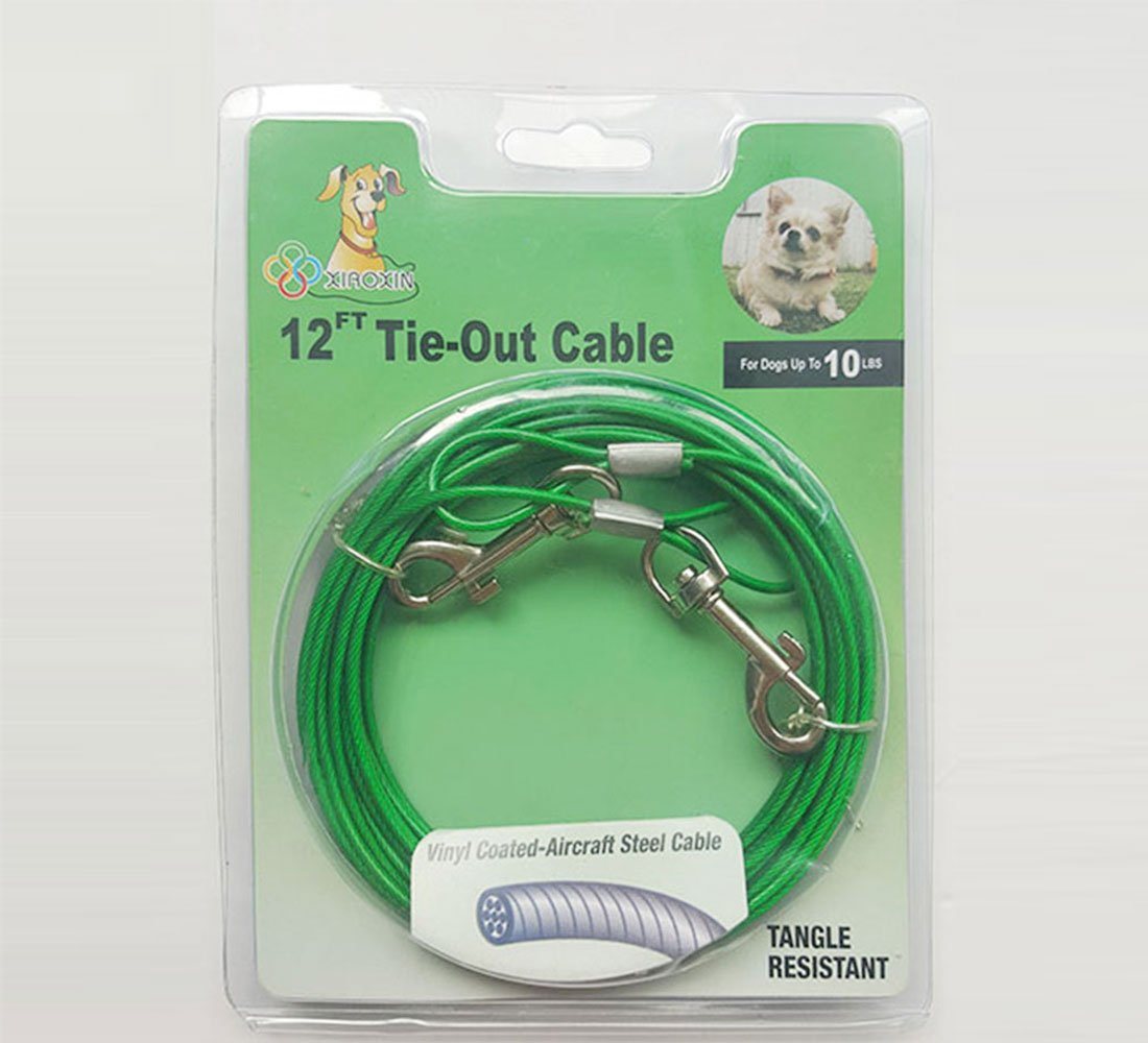 Small Dog Tie Out Cable Up To 10 LBs Xiaoxin Hardware-Made Co Ltd