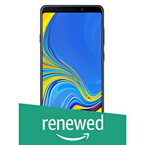 (Renewed) Samsung Galaxy A9 SM-A920FZBDINS (Lemonade Blue, 6GB RAM, 128GB Storage)