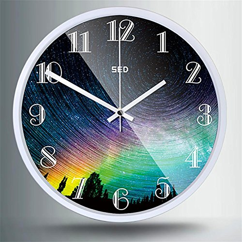 MCC Silence Wall Clock Living Room Creative Bedroom Watch Table Quartz Clock Fashion Modern , 1 , 3030cm (Analogue Mixing Desk)