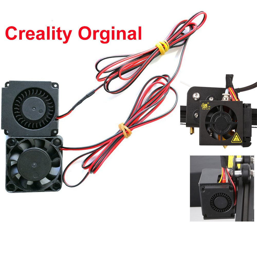 Creality CR-10 4010 Blower 40x40x10MM 12V DC Cooling Fan and 12V Circle Fan for 3D Printer Parts CR-10,CR-10S,S4,S5