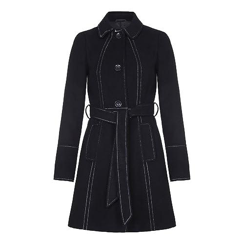Anastasia-Escudo con cinturón de invierno de las mujeres