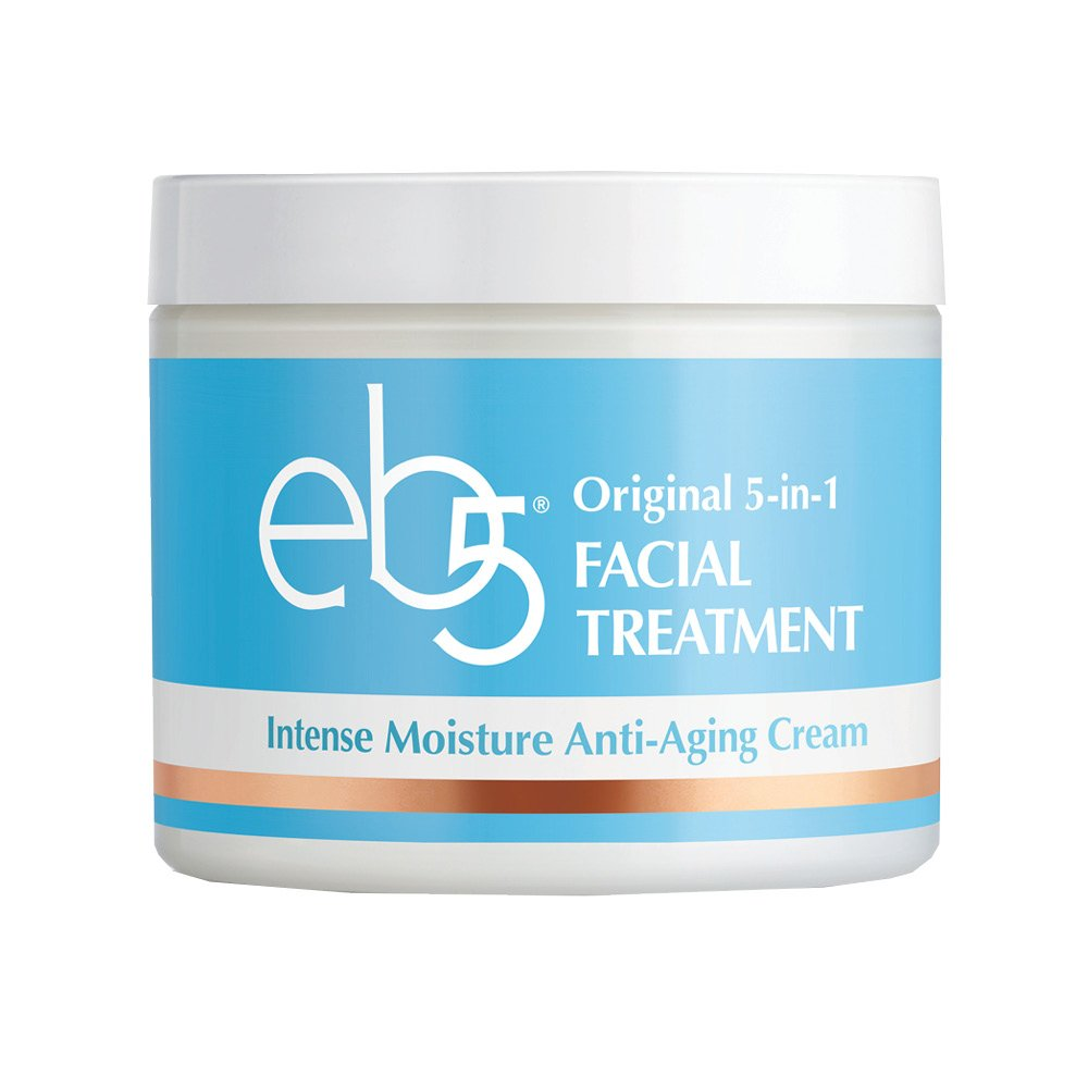 eb5 Intense Moisture Anti-Aging Face Cream | Tone & Tighten Skin with Retinol, Fade Fine Lines (4 oz) by eb5 (Image #1)