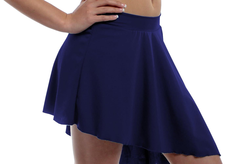 B Dancewear SKIRT レディース B00LZA57B6 ネイビー XX-Large
