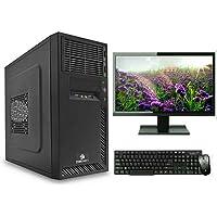 Hcomputer 15.6-inch LED Monitor Intel Duel Core Processor/500 GB HDD/ 4GB RAM Assemble Desktop