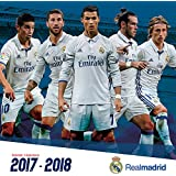 Real Madrid (17 Month) 2018 Wall Calendar (English and Spanish Edition)