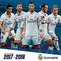 Real Madrid (17 Month) 2018 Bilingual (Spanish) Wall Calendar