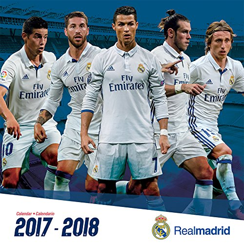 Real Madrid 2018 Calendar: 17 Month