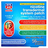 Rite Aid Nicotine Patches to Quit Smoking | Step 1, Step 2, Step 3 | Transdermal Patch System to Help Stop Smoking