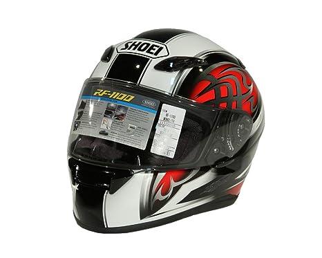 Shoei XR de 1100 Monolith TC de 1 Casco Integral Negro Rojo de bikerworld