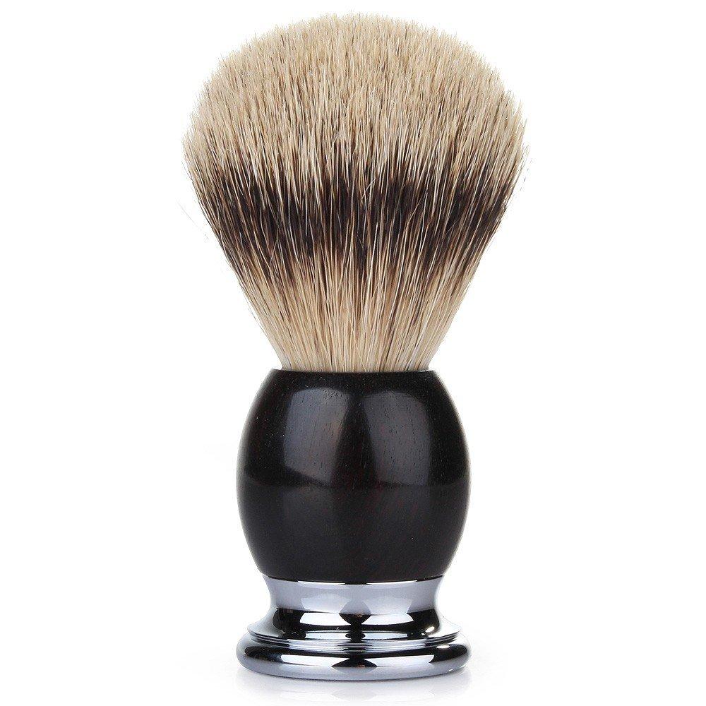 Muhle Sophist Silvertip Badger Shaving Brush - African Blackwood