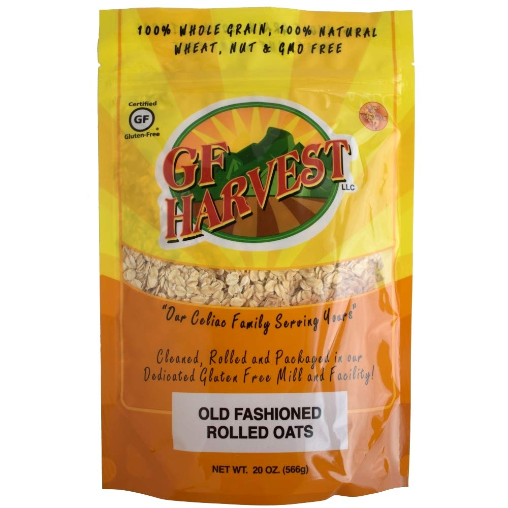 GF Harvest Organic Gluten Free Rolled Oats, 20 Ounce Bag by GF Harvest (Image #1)