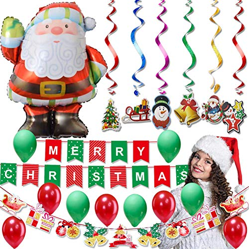 Christmas Decorations Banner Clearance Theme Party Favors Decor Supplies Nightmare