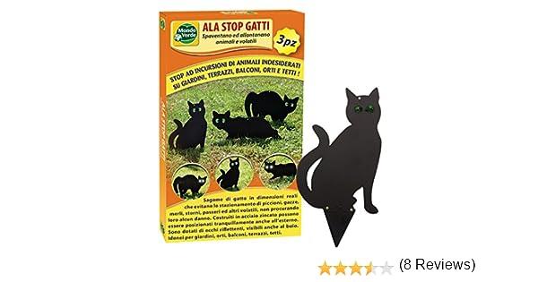 Mondo Verde REP224 Ala Stop Gatos 3 unidades, negro: Amazon.es: Jardín