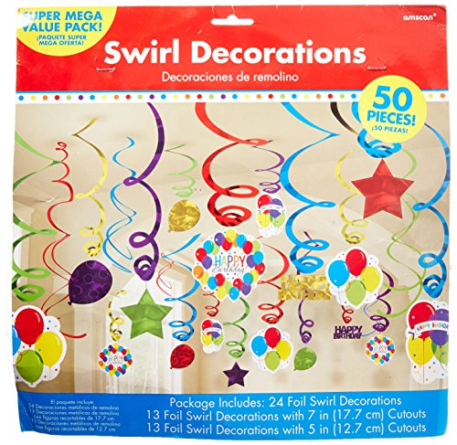 (Decorations Hanging Birthday Party)