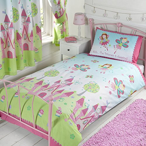 Princess is Sleeping Junior/Toddler Duvet Cover and Pillowcase - Junior Bed Set