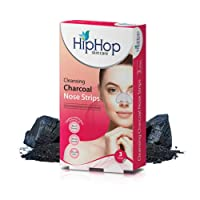 HipHop Skincare Cleansing Charcoal Nose Strips for Women (3 strips)