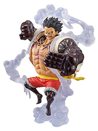 Toys & Hobbies One Piece King Of Artist Luffy Statue The Bound Man Pvc Monkey D Luffy Figure Collectible Model Toy 18cm