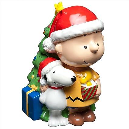 Buy Gibson Cookie Jar Charlie Brown Friends Christmas Online At