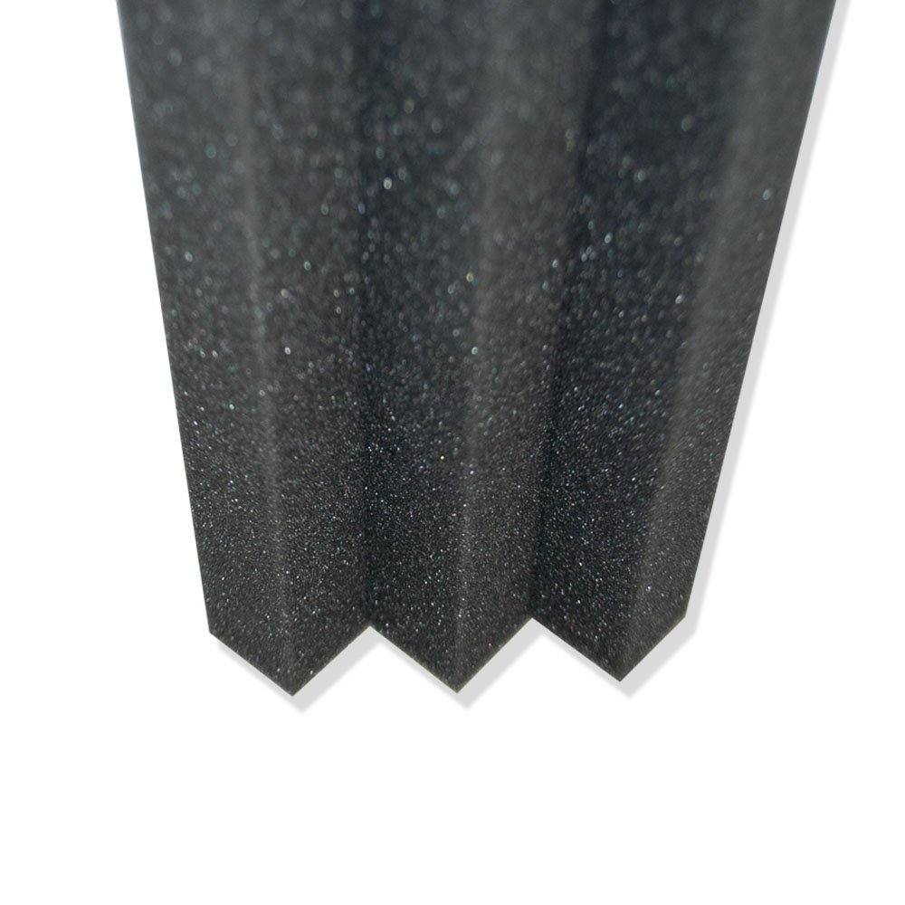 XL Column Acoustic Wedge Studio Foam Corner Block Finish Corner Wall in Studios or Home Theater (12 Pack) by Foamily (Image #3)