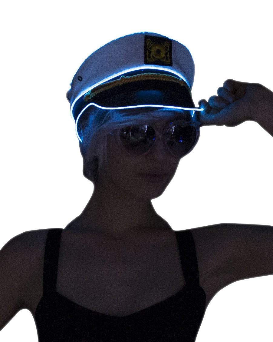 Electric Styles Sailor Hat - Lime Green LED by Electric Styles (Image #2)