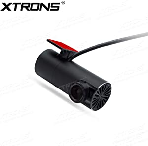 XTRONS 360° Rotatable Lens Car DVR Wide-Angle USB Video Recorder Dash Camera Drive Recorder