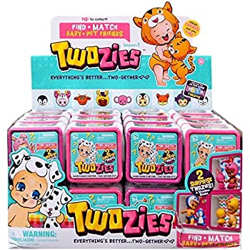 Twozies Season 1 Surprise Mystery pack FULL CASE of 30 Baby + Pet