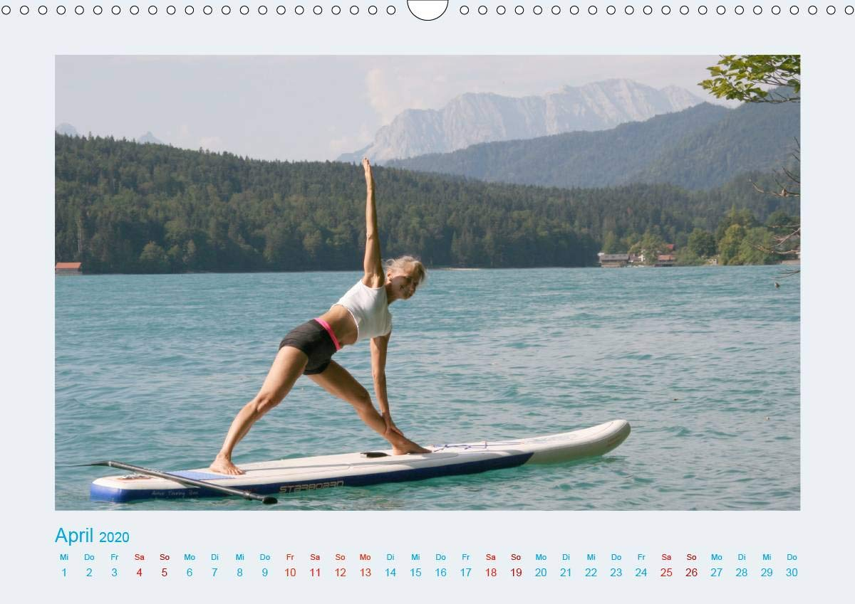 Faszination Yoga - SUP (Wandkalender 2020 DIN A3 quer): Yoga ...