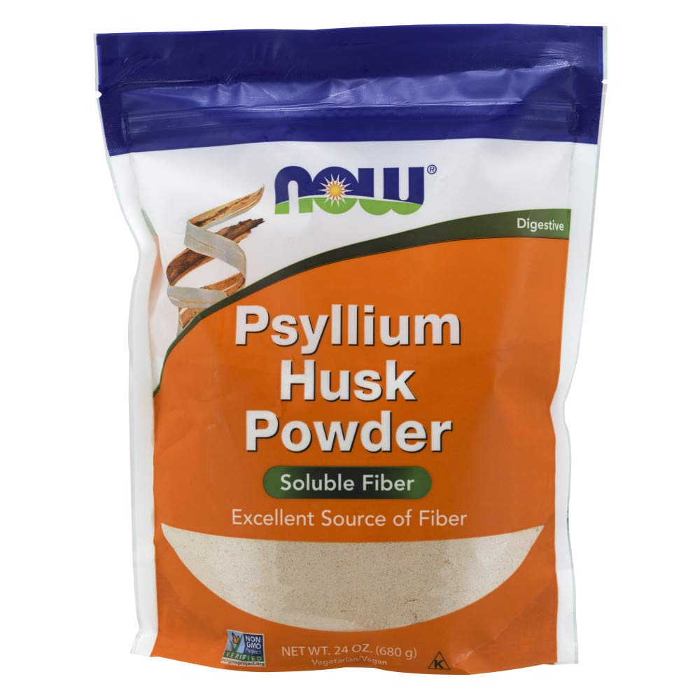 NOW Supplements, Psyllium Husk Powder, 24-Ounce by NOW Foods