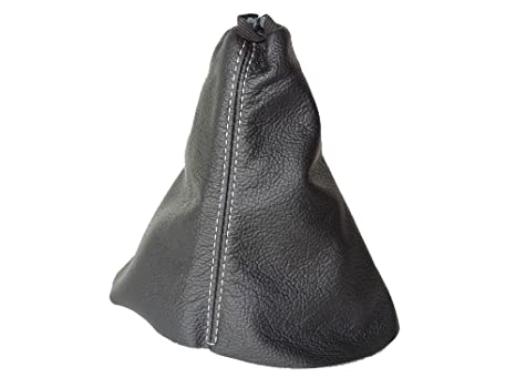 The Tuning-Shop Ltd Leather Gear Gaiter Black Italian Leather