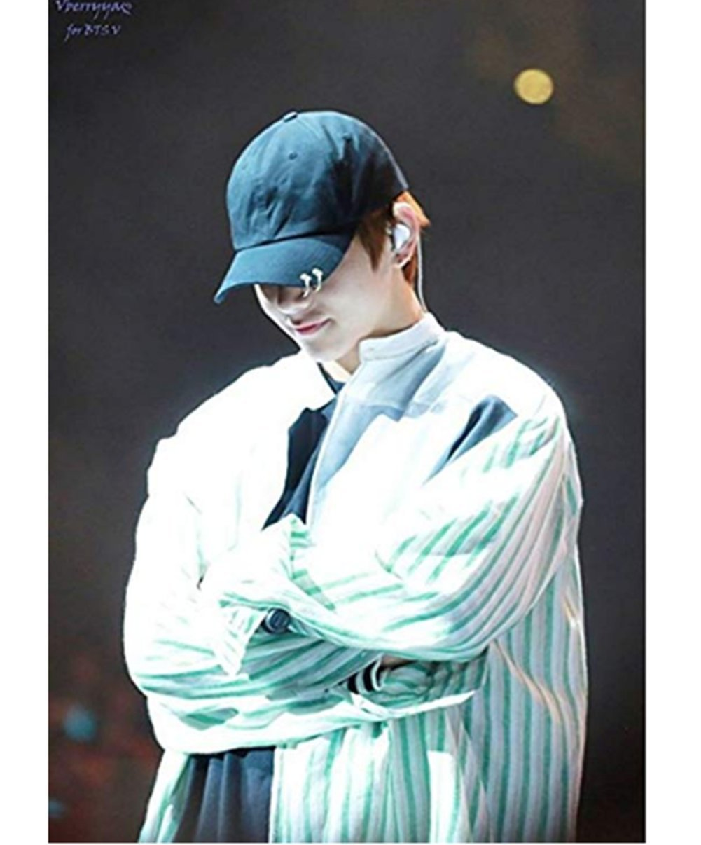 Bosunshine BTS Love Yourself V Suga Jin Jimin Jung Kook Casual Backpack Daypack Laptop Bag College Bag Book Bag School Bag with Hat PK1 by Bosunshine (Image #4)