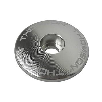 """1-1//8/"""" Thomson Aluminum stem cap black"""