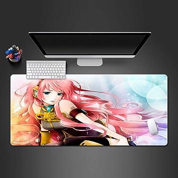 sxkdyax Inocente Chica Anime Mousepad Juego de Gama Alta Alfombrilla de ratón Jugador Grande Alfombrilla de ratón Mesa de Juego Tableta LapKeyboard Juego Grande Alfombra-70CMX30CM: Amazon.es: Electrónica