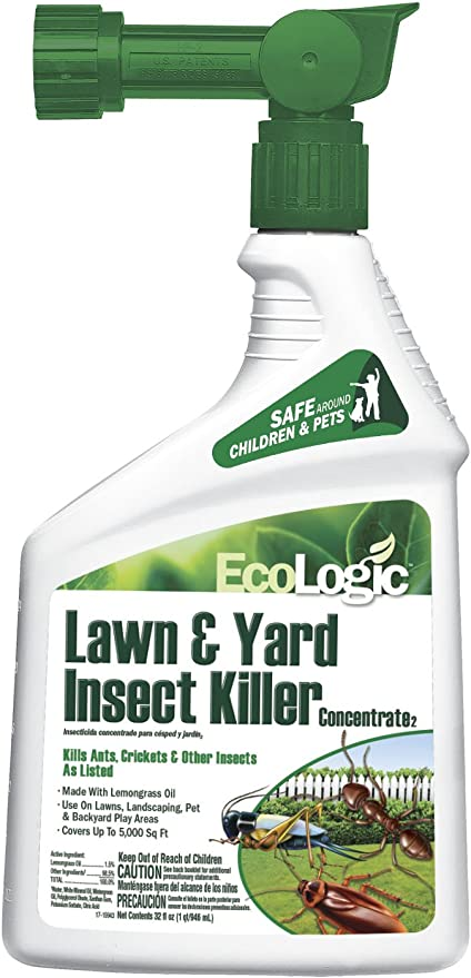 Amazon.com : Ecologic 75004-1 Lawn Insect Kiler, Brown/A : Garden ...