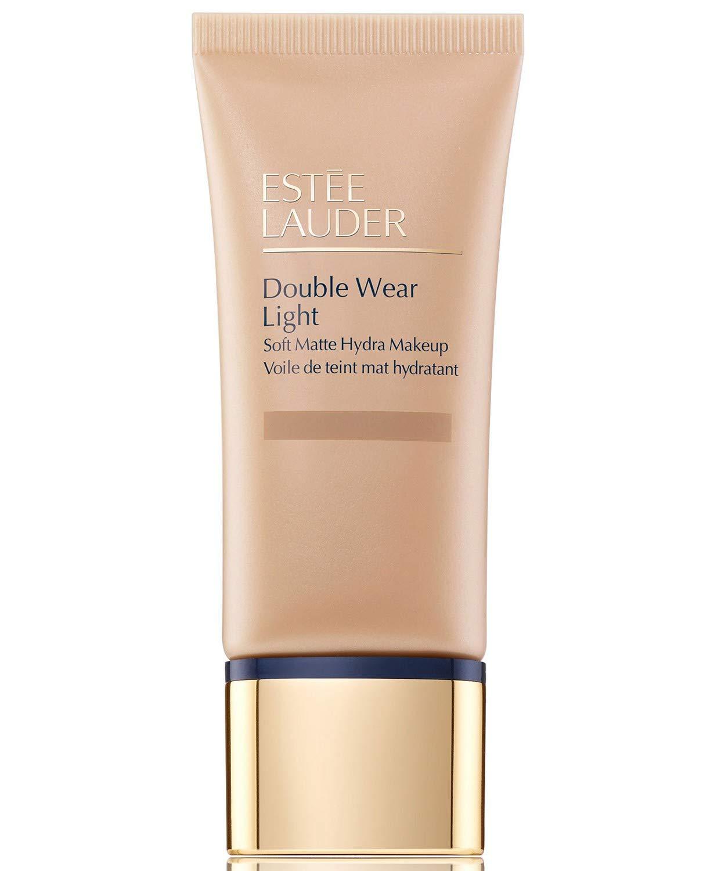 Estee Lauder Double Wear Light Soft Matte Hydra Makeup, 1 Ounce 3C2 Pebble