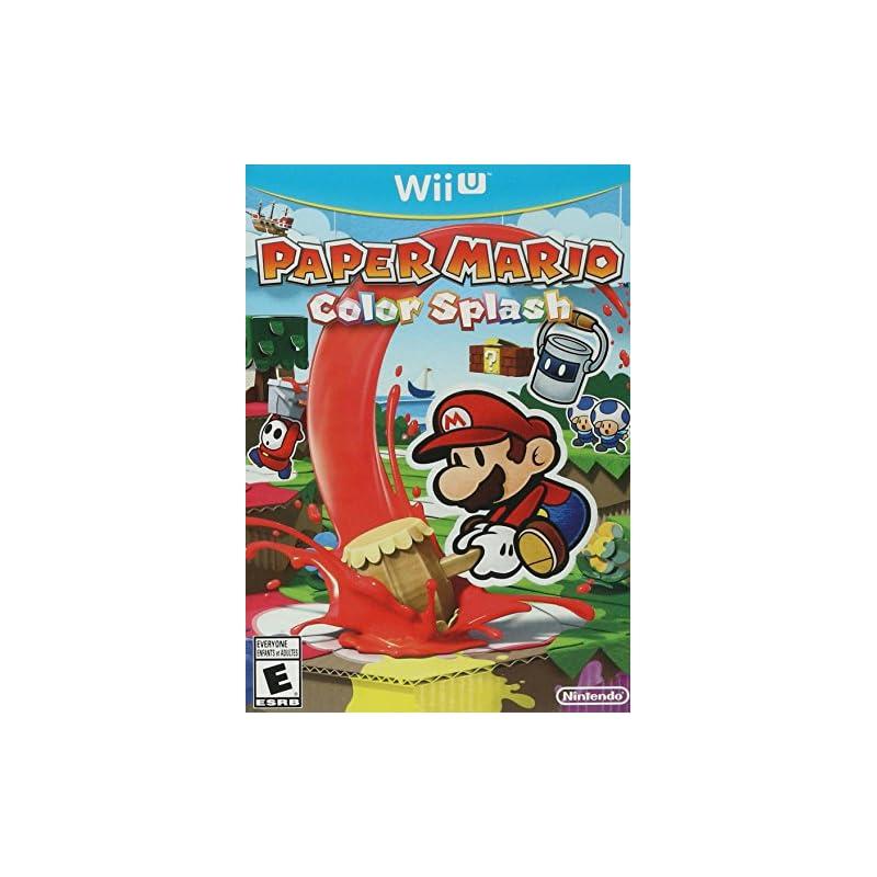 Paper Mario: Color Splash - Wii U Standa
