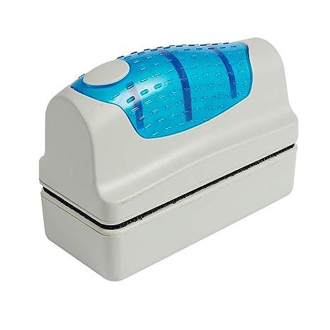 1# Fish Tank Clean Brush Double Side Glass Magnetic Cleaner Aquarium Scrubber Cleaning Tool Glass Algae Scraper