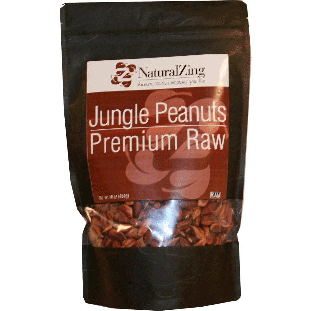Wild Jungle Peanuts (Raw, Organic) 16 oz.