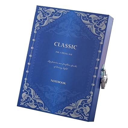 Masterein - Agenda de cuaderno con contraseña y bloc de ...