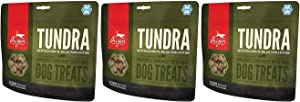 Orijen Freeze Dried Tundra Dog Treats, 3.25 Ounces Per Pack (3 Pack)