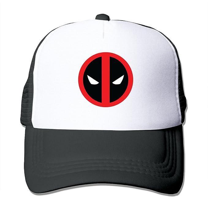 Black Deadpool Logo Ryan Reynolds Baseball Caps Cap Black: Amazon.es: Ropa y accesorios