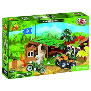 Cobi Small Army Jungle Base, Building Bricks, 250 Pcs