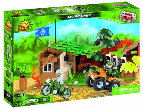 Cobi Small Army Jungle Base, Building Bricks, 250 Pcs