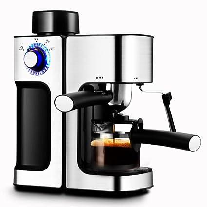 YOYO Cafetera,Café Máquina Espresso Capuchino Latte Dispensador con Leche Soplador Tradicional Italiano Bar Barista