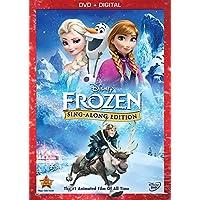 Frozen: Sing-Along Edition [DVD + Digital Copy] (Bilingual)