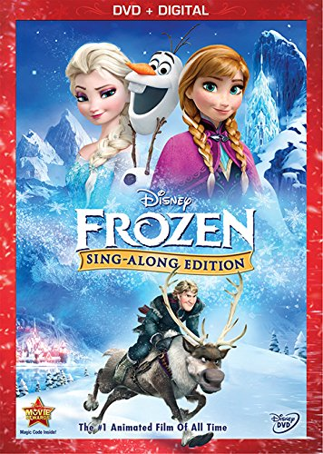 Amazon: Frozen DVD Sing Along.