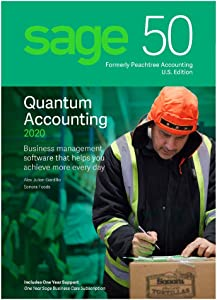 Sage Software 50 Quantum Accounting 2020 U.S. 3-User
