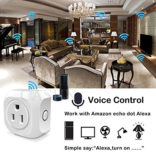 ACASHNA-HS108-Smart-Plug-No-Hub-Required-Wi-Fi-Control-your-Devices-from-Anywhere-Works-with-Alexa-and-Google-Assistant-1Pack