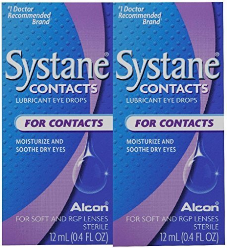 Systane Contacts Soothing Drops-0.405 oz, 12mL, 2 pack