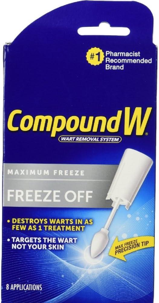 Compound W Freeze Off Plantar 8 Applications kit